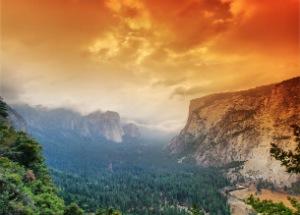 Yosemite Park, timelapse, reizen