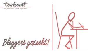 bloggers gezocht - toekomt.nl